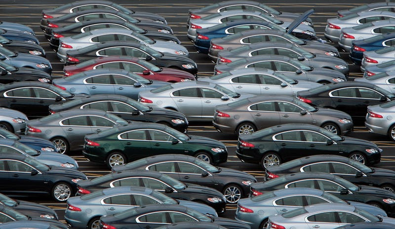 Where Are Automakers Stashing Unsold Cars