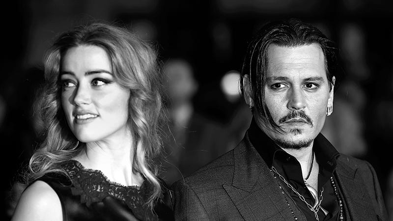 Illustration for article titled Amber Heard Filed For Divorce Because Johnny Depp's Family Reportedly Hates Her Guts