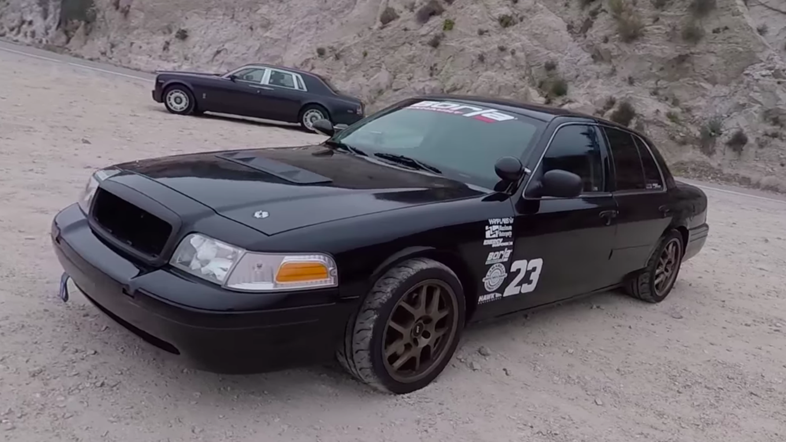 This Is What Happens When You Buy A Ford Crown Vic Police Interceptor And  Modify The Hell Out Of It