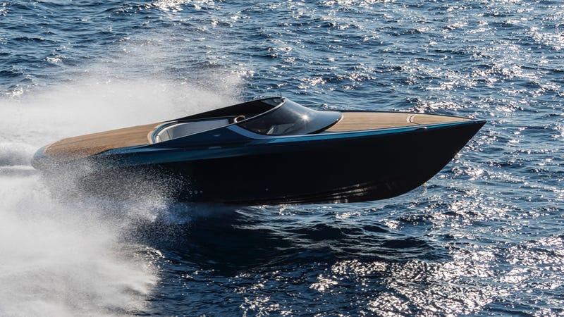 Illustration for article titled This Is Me In My New Aston Martin Boat