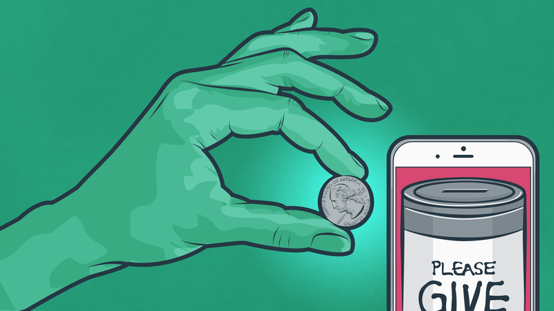 Illustration for article titled When Charities Get Donations Because I Clicked, Where Do They Get the Money?