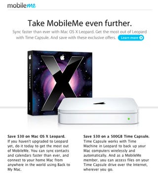 Illustration for article titled Apple's $30 Time Capsule Discount Could Point at 2TB Time Capsule?