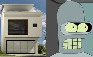 Illustration for article titled Bender House Tells All Other Houses to Bite Its Shiny, Metal...Etc Etc