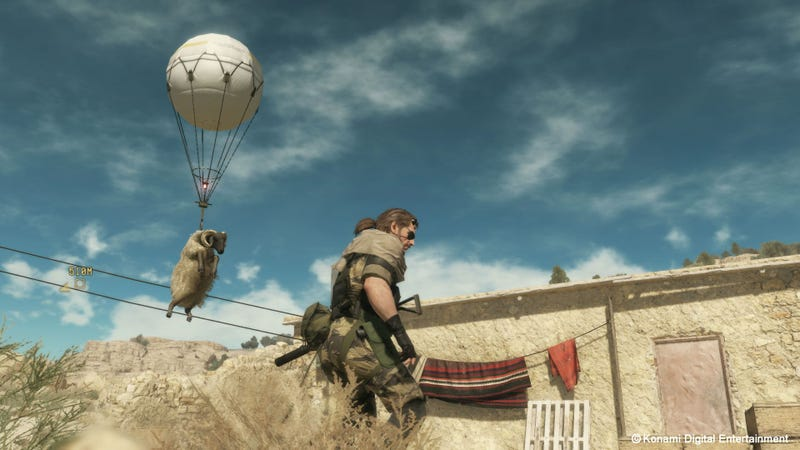 Illustration for article titled Metal Gear Solid V Is Way More Fun When You Stop Caring About Your Score