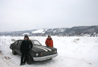 Illustration for article titled Frozen Chevy Nova Update: Technicians Strip The Car