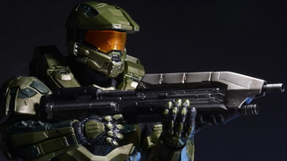 Illustration for article titled NECA's Deluxe Master Chief figure is one fabulous looking Spartan
