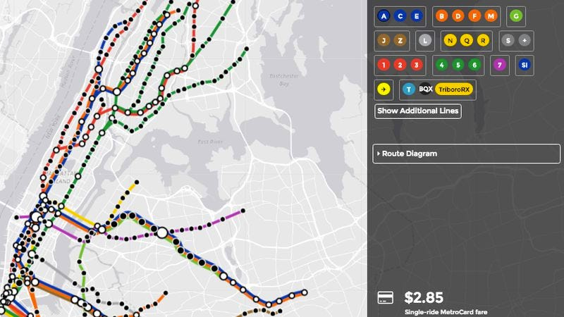 1963 Nyc Subway Map.Design Your Ideal New York City Subway System With This New Game