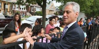 Chicago Mayor Rahm Emanuel (Scott Olson/Getty Images)