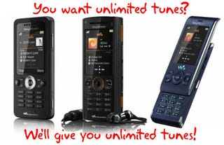 Illustration for article titled Sony Ericsson Planning to Offer Unlimited Music Service