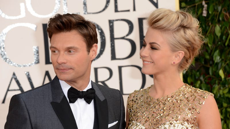 Illustration for article titled Ryan Seacrest Is 'Scared' of Julianne Hough Because of Her Epic Hulk Strength