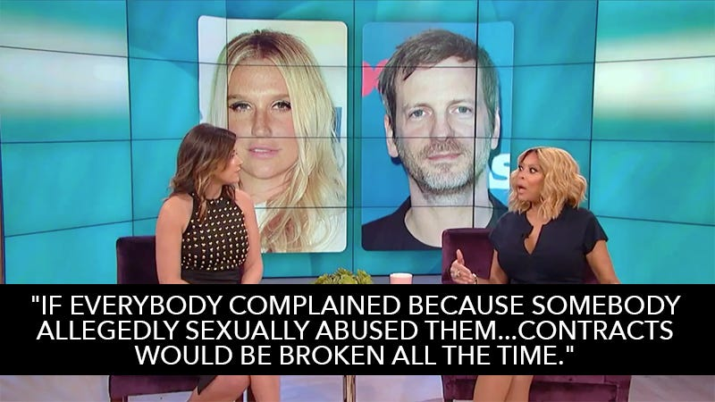 Illustration for article titled Wendy Williams Thinks Kesha Ruling Was 'Fair,' Wonders Why She Didn't Film the Abuse as Proof