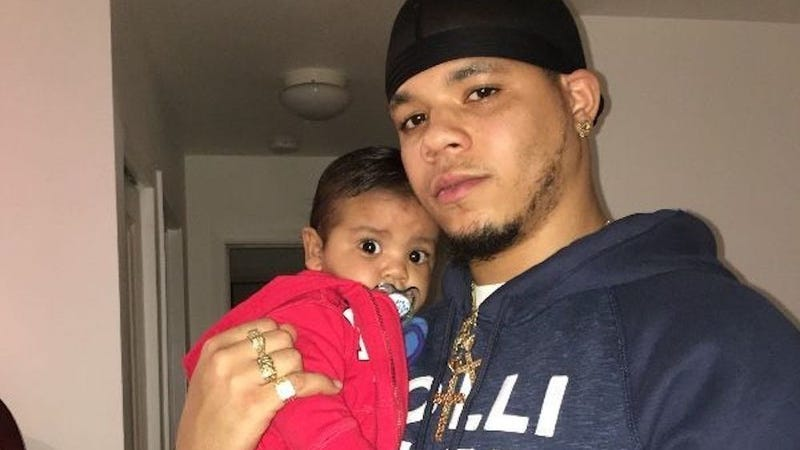 DaShawn Horne and his child (DaShawn Horne GoFundMe fundraiser page)