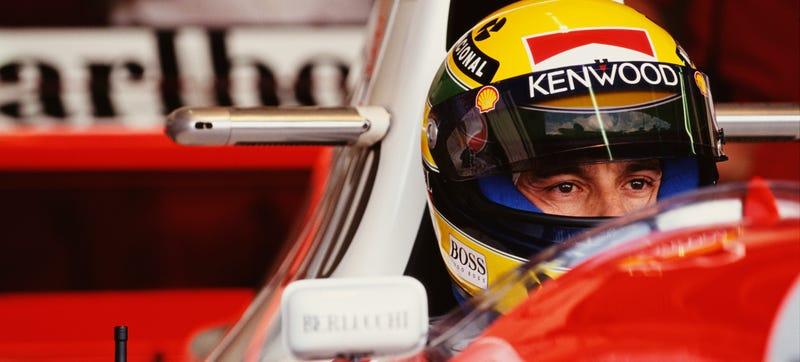 Illustration for article titled Ayrton Senna Deserved A Google Doodle Everywhere
