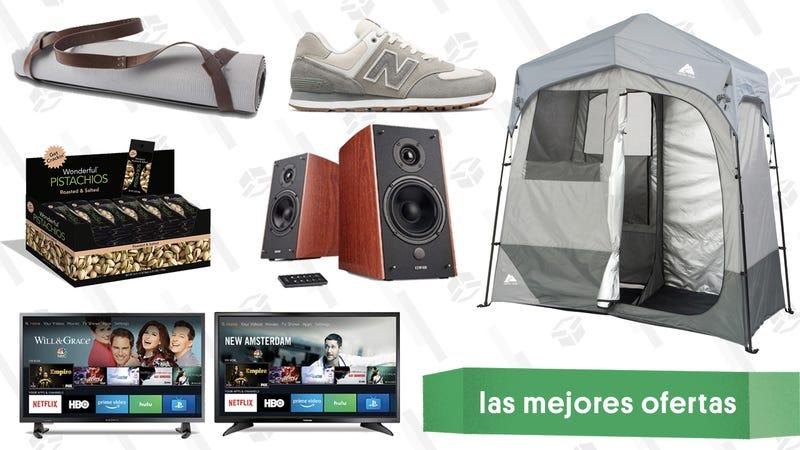 Illustration for article titled Las mejores ofertas de este jueves: FireTVs, sneakers de New Balance, tienda de campaña de lujo y más