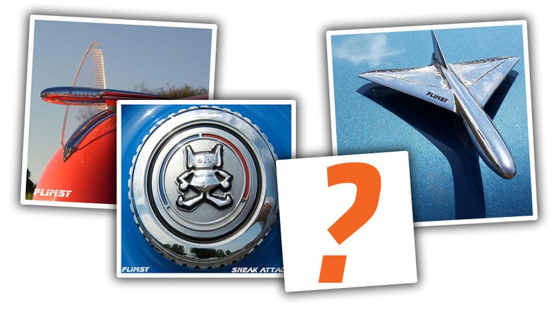 Illustration for article titled Help A Band Pick A Car Hood Ornament For Their Next Album Cover