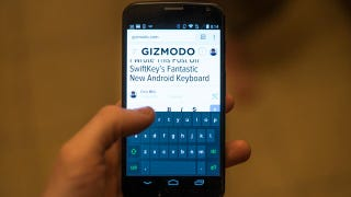 I Wrote This Post Using SwiftKey's Fantastic New Android Keyboard