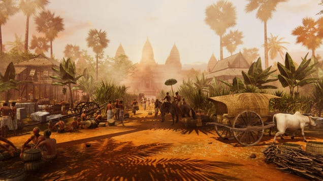 Ancient City of Angkor Was Jam-Packed With People