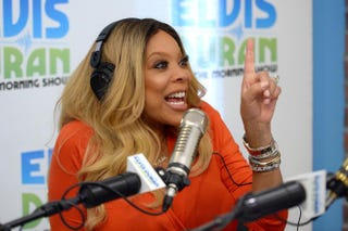 Wendy Williams during an appearance on Elvis Duran and the Morning Show at the studios of radio station Z100 in New York City on Sept. 8, 2015. Andrew Toth/Getty Images