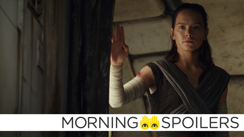 Buckle up Rey, it's time for some very weird Star Wars rumors.