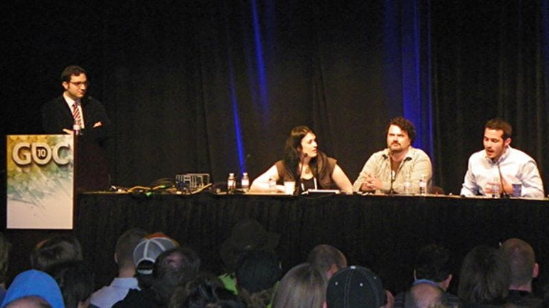 """Illustration for article titled AVC at GDC '10: The """"Comedy In Games"""" panel"""