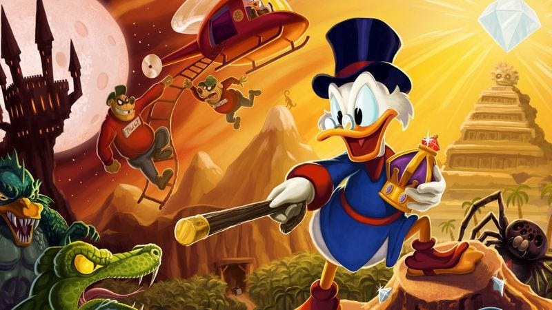 Illustration for article titled There's finally a heavy metal version of the DuckTales theme song