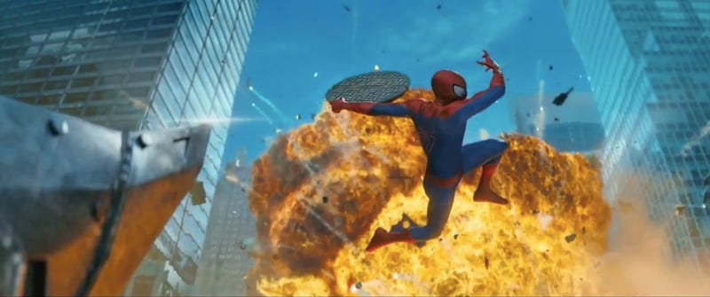 Illustration for article titled Screencaps Reveal All the Secrets in the Amazing Spider-Man 2 Trailer!
