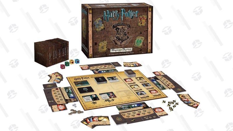 Harry Potter Hogwarts Battle Cooperative Deck Building Card Game | $30 | Amazon