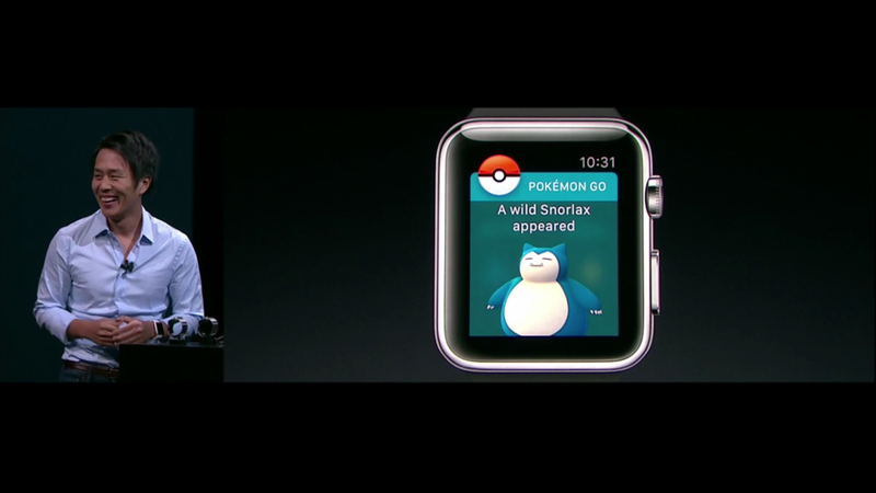 Illustration for article titled Pokémon Go Will Be On Apple Watch By Year's End