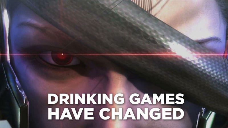 Illustration for article titled The Official Unofficial Metal Gear Rising: Revengeance Drinking Game™