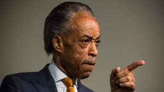 The Rev. Al Sharpton, seen here at a press conference at the National Action Network's office in April 2014, has spoken out about the choke hold death of Eric Garner. Andrew Burton/Getty Images