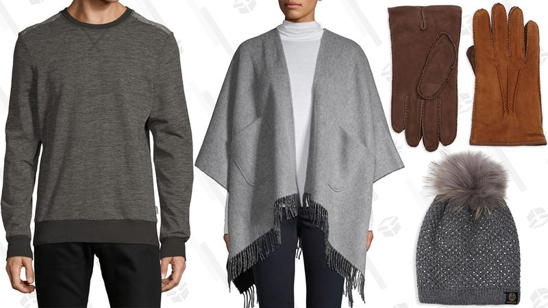 50% Off Men's and Women's Warm & Cozy Styles | Saks Off 5th | Promo code COZY50