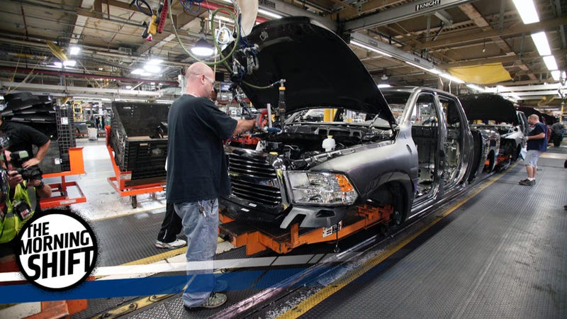 An FCA factory in Warren, Michigan. Photo credit: Getty Images
