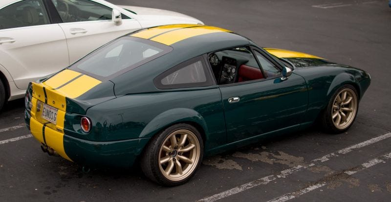 Illustration for article titled Comment Of The Day: Tell Us More About Your Fastback Miata Edition