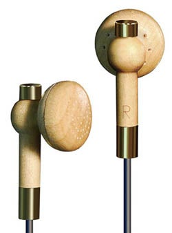 Illustration for article titled Wooden Earbuds Would Make for a Nasty Splinter