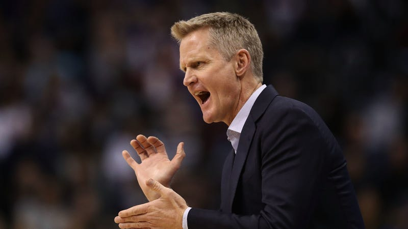 Illustration for article titled The Warriors Had Another Weird One, And Now It's Time To Read Steve Kerr's Lips