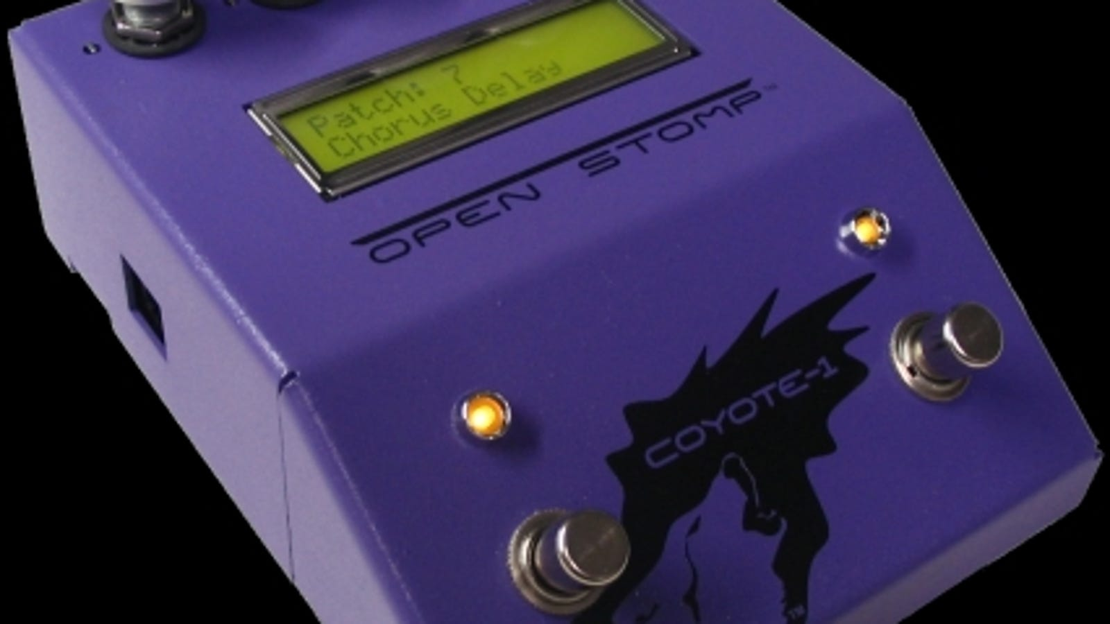 openstomp coyote 1 is hackable open source effects pedal for real guitar heroes. Black Bedroom Furniture Sets. Home Design Ideas