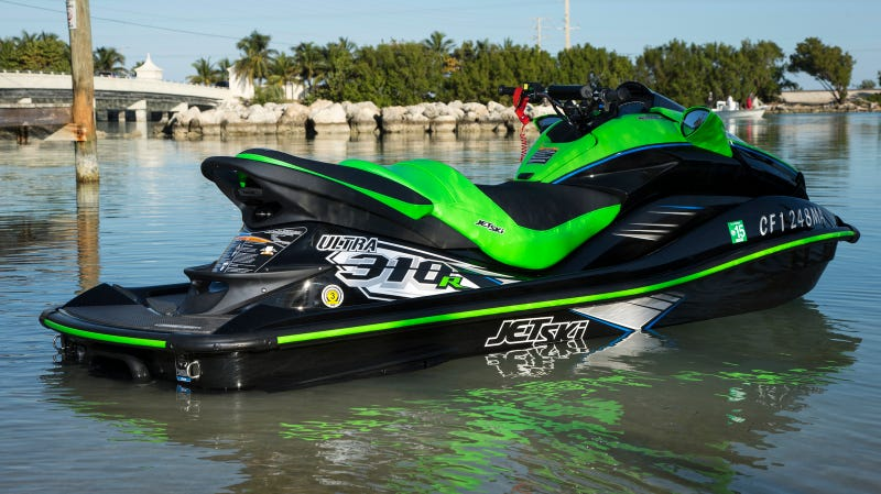kawasaki 39 s 310 horsepower jet ski is pure madness. Black Bedroom Furniture Sets. Home Design Ideas