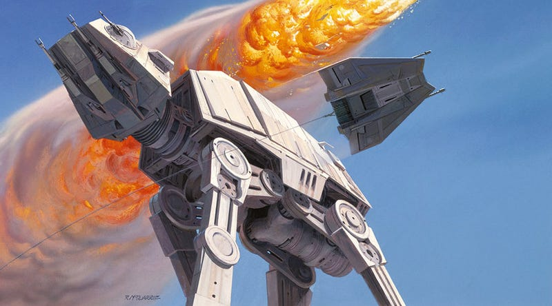 Illustration for article titled 100+ amazing pieces of Star Wars concept art