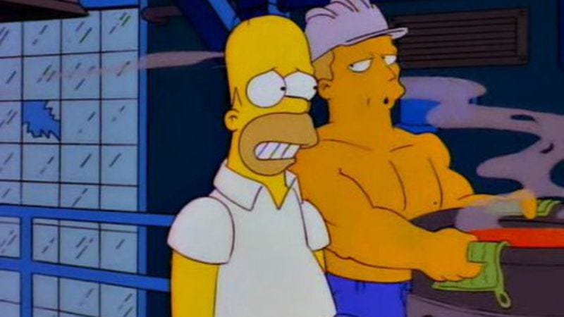 Illustration for article titled New study suggests The Simpsons likes its homosexuals flaming, effecting social change
