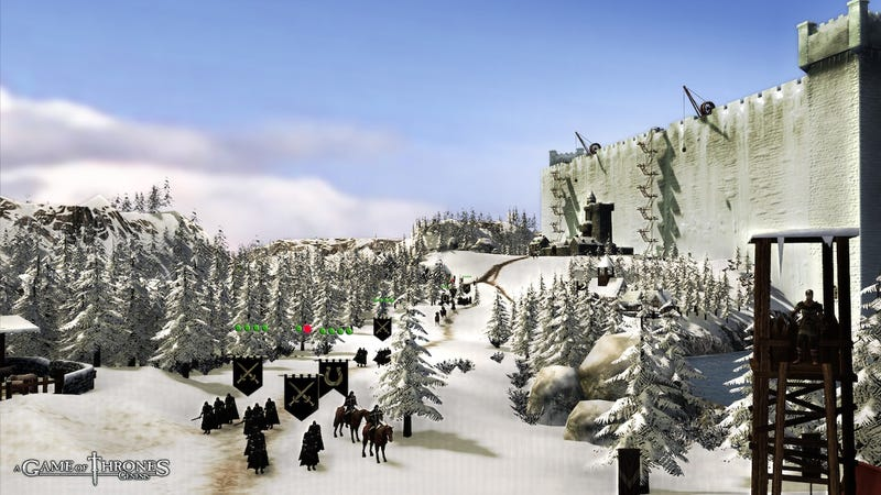 Illustration for article titled Winter is Coming in these Game of Thrones: Genesis Screens