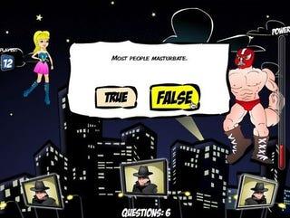 Illustration for article titled Canadian Sex Ed Game Stars Captain Condom, Wonder Vag