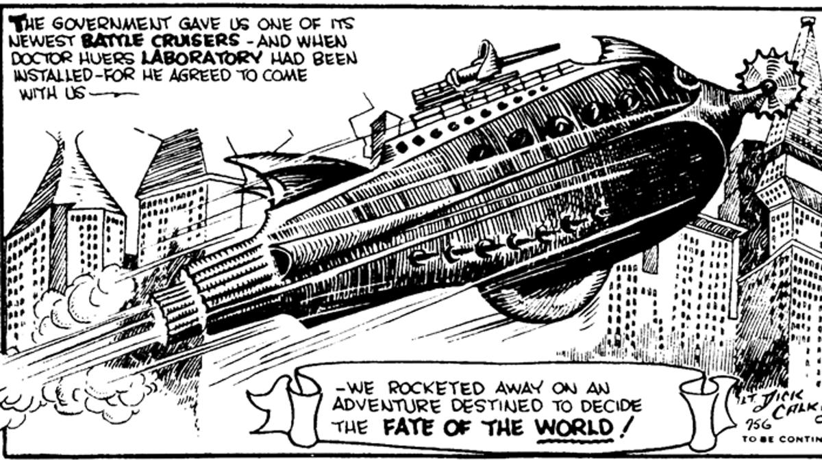 Resultado de imagem para buck rogers spaceship drawing