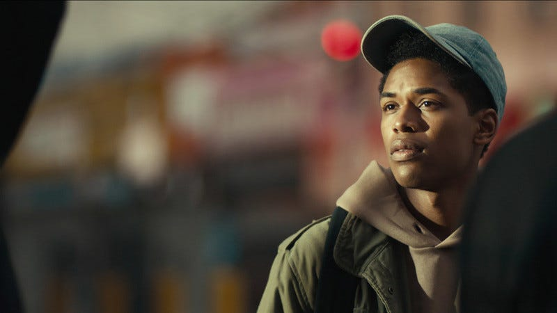 Kelvin Harrison Jr. in Monster (Sundance)
