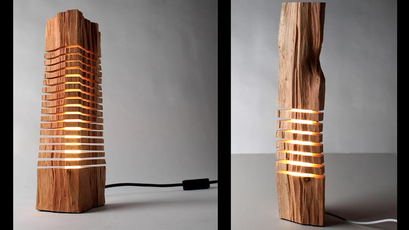 Wooden Lamps Show The Light Within