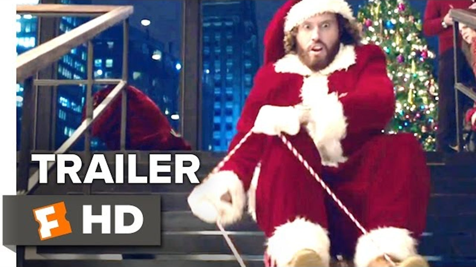 T.J. Miller is full of holiday spirits in the Office Christmas Party ...