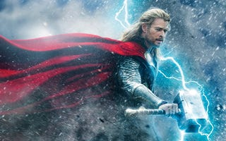 Illustration for article titled Cuánto pesa el martillo de Thor, según la física