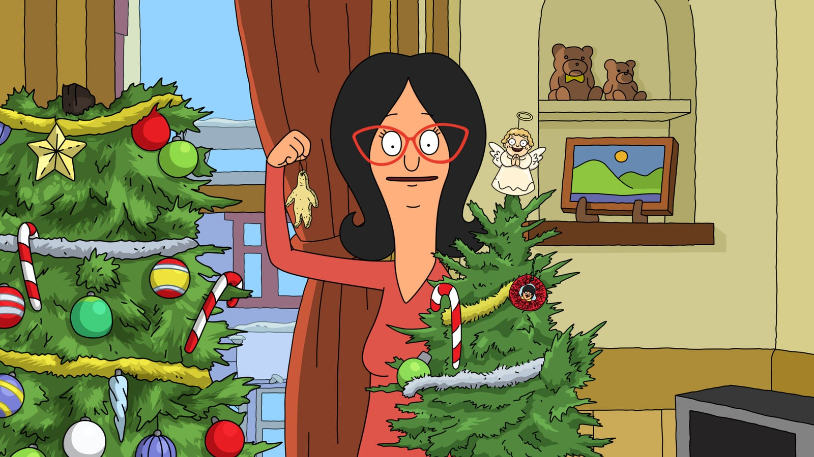 A Christmas crime is afoot in a very merry Bob's Burgers