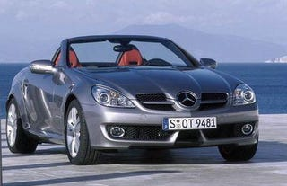 Illustration for article titled The New Mercedes SLK: A Little Off The Nose And Chin Doc