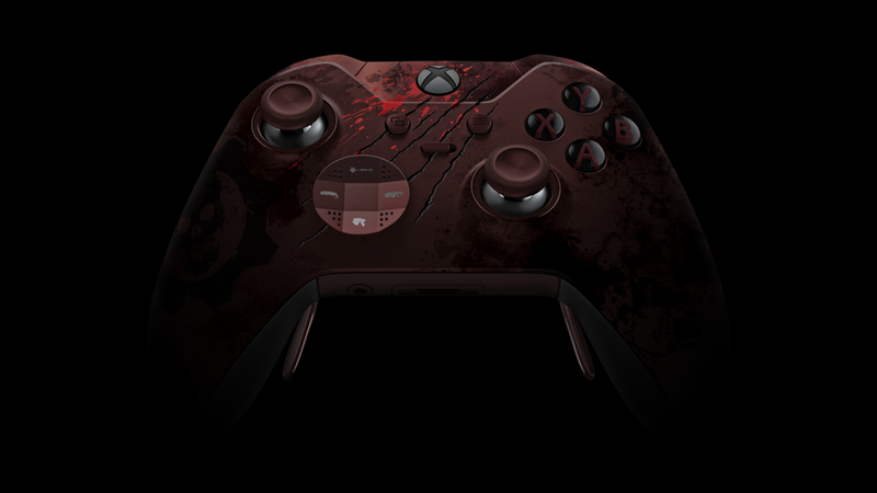 Illustration for article titled A Bloody $200 Gears Of War Control Pad