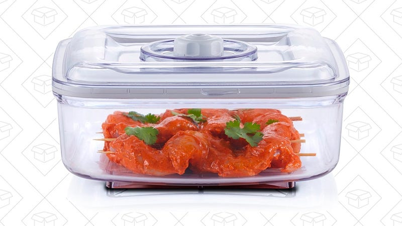 FoodSaver Quick 2.25 quart Marinator | $17 | Amazon